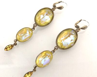 Ovali Candy Glam Earrings Sunshine & Gold